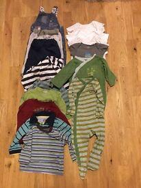 Baby boy clothes bundle 6-9m