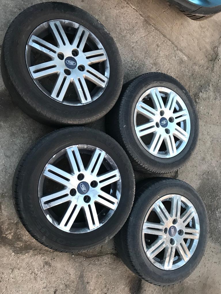 2002 ford focus alloys rims wheels