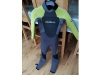 Gul g-flex 5mm child's wetsuit