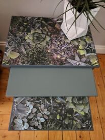 Quirky Set of 3 Nesting Tables £75