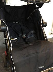 Maclaren Techno XT buggy- black/silver