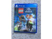 LEGO Jurassic World Game ps4 like new