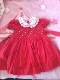 2 years elnino boutique smocked dress