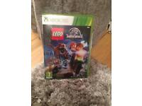 Lego Jurassic World Xbox 360 Game