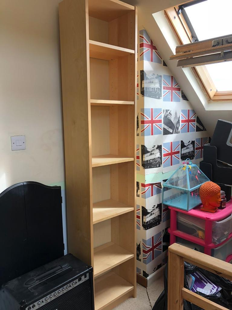 Narrow Ikea Billy Bookcase In Bedwas Caerphilly Gumtree
