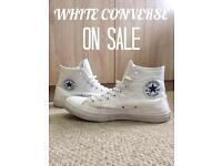 White Converse Chuck Taylor 2