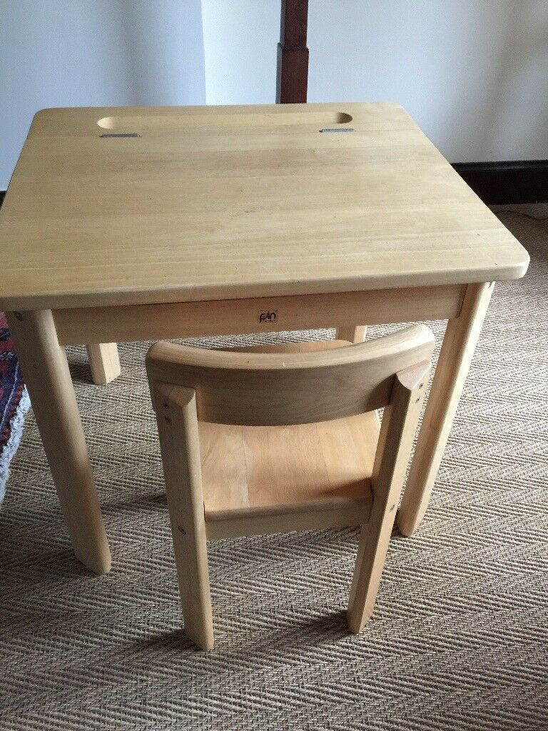 John Lewis Childs Desk With Storage And Chair Set