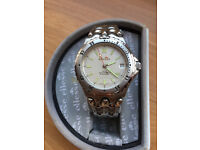 Retro Mens Stainless Steel Ellesse Automatic Watch As NEW