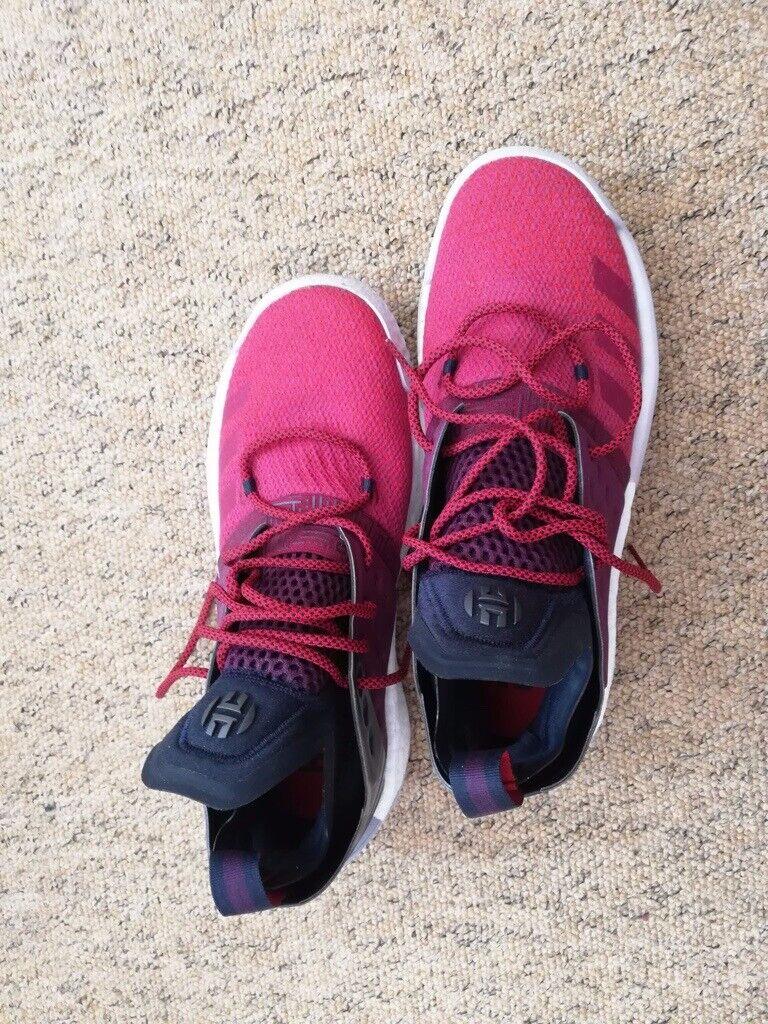 Adidas Basketball Running Shoes - James Harden Volume 2 - UK Size 10 0fe41aa5668e