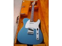 American 64 reissue Fender Telecaster in lake placid blue