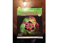 OCR AS/A Level Chemistry A Student book for sale  Berkshire