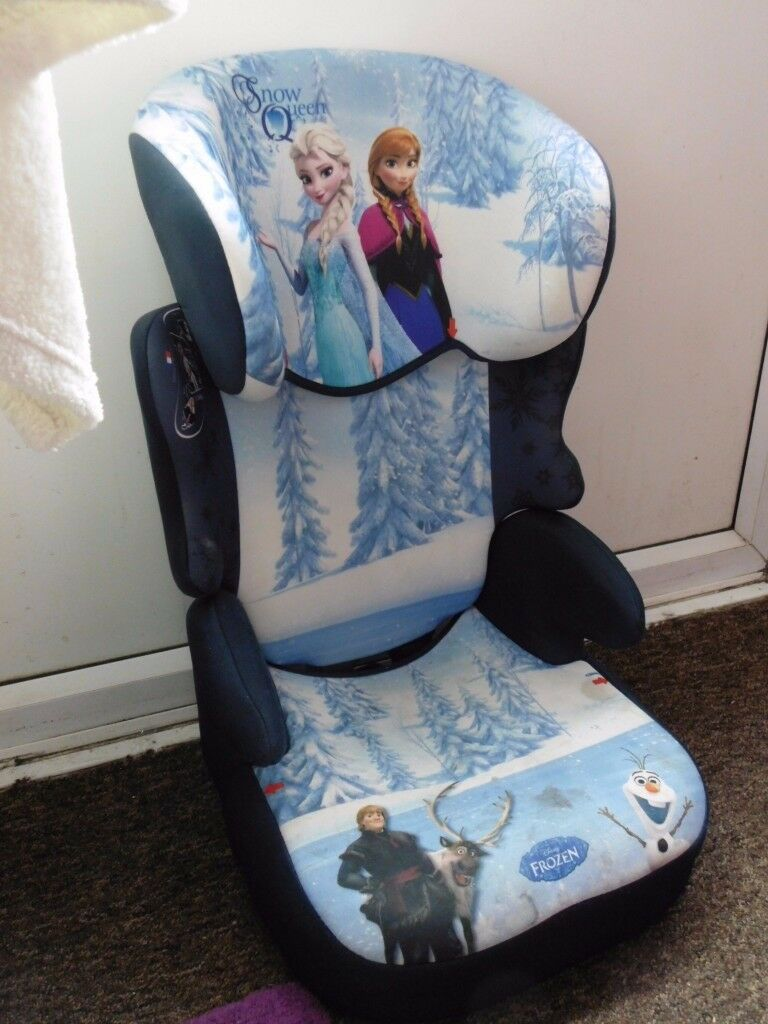 Anna Elsa Frozen Childs Car Seat
