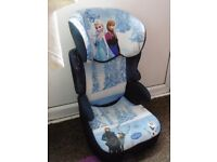anna elsa ' frozen ' childs car seat - booster car seat for kids