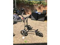 Bullet 5000 collapsible golf trolley