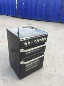 Black ceramic top cooker