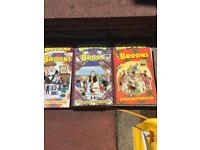 Collection of 6 brooms books