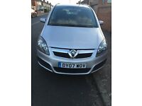 Vauxhall zafari 2007 1.6 petrol silver color 5 door 1 yearMOT the mileage is 74,000 price is £2199