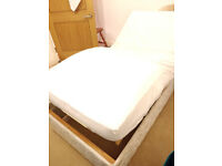 QUICK SALE WANTED- Adjustable electric single bed in Willesden - ideal for convalescence