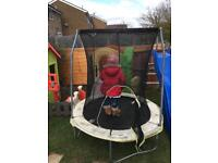 Small trampoline baby toddler