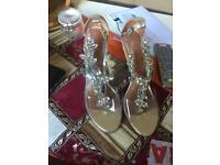 Mode in pelle heels