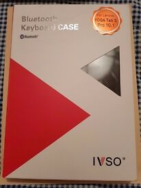 IVSO Lenovo YOGA Tab 3 10.1-Inch Bluetooth Keyboard Portfolio Case - DETACHABLE