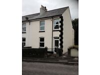 To Let 3 bed Character Victorian end of terrace house in St Austell