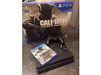 PS4 Slim 500gb - Call of Duty Infinite Warfare Bundle