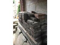 Reclaimed bricks (approx 100) various