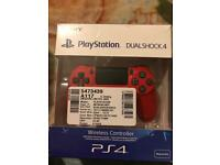 PS4 Advanced Wireless Controller Red
