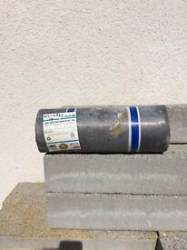 2 Lead flashing rolls. Both code 4. 6m by 240mm and 3m by 300mm wide
