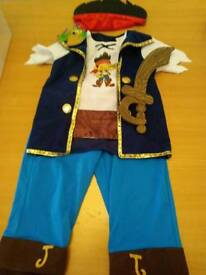Jake and the neverland pirates dressup