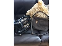 River Island and Top Shop handbags