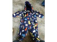 Baby boys winter suit marks and Spencer