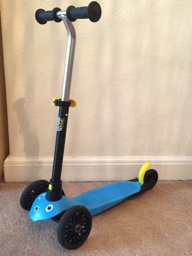da0ea054a Decathlon Oxelo B1 child scooter in blue for 2-4 y.o.