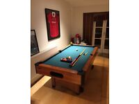 American Style Pool Table + 2 Que's - Priced for quick sale - Collection only - Used