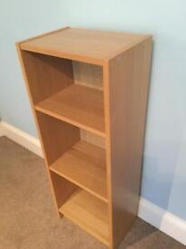 Shelving Unit with 2 Adjustable Shelves H42in/107cm W16/41cm D11in/28cm