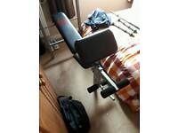 Pro Power weights bench and weights