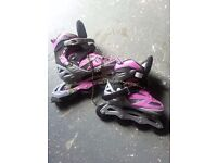 Roller blades size 5 to 7.5