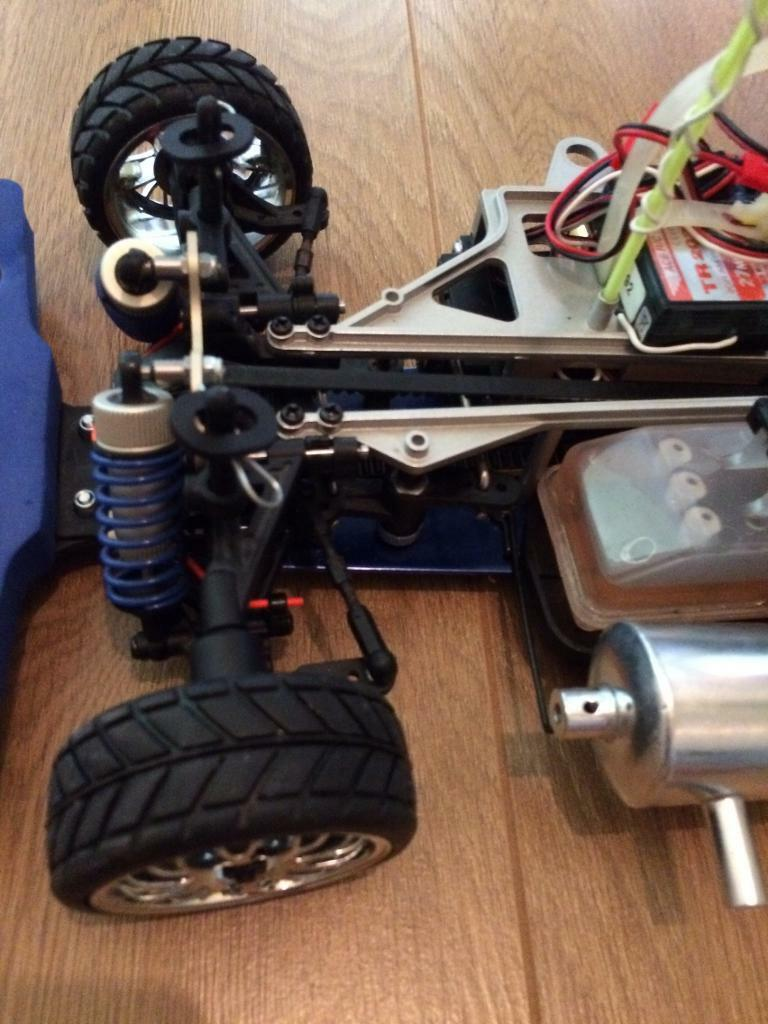 Rc nitro car only used once