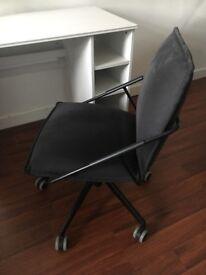 Ikea office chair, slate fabric