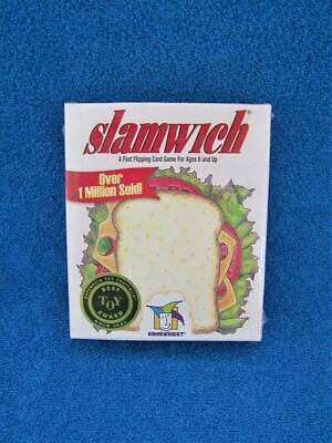 Slamwich Card Game By GameWright For Ages 6 & Up Best Toy Award - Sealed - New (Best Toys By Age)