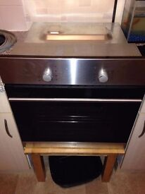 Logik built in fan oven, couple of months old