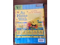 NEW Key stage 1 set of 8 oxford learning books (At home with) ages 5-7 (RRP £32)