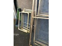 Aviary panels enclosure catio hens birds