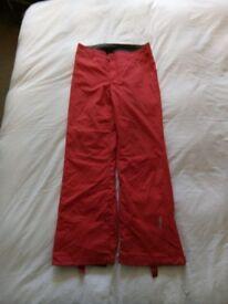 Roxy ski trousers size 4