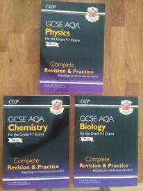 GCSE AQA science text books
