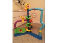 Fisher price cruise and groove ballapalooza. Already built (took hours) comes with balls.