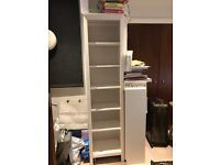 White Hemnes Bookshelf in PERFECT condition -- only 1 year old!