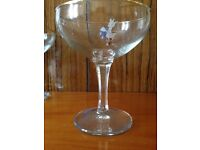 Babycham glasses - set of 5 original.
