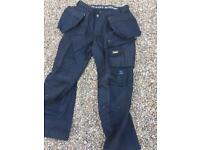 Snickers 92 3214 work trousers holster pockets brand new tags